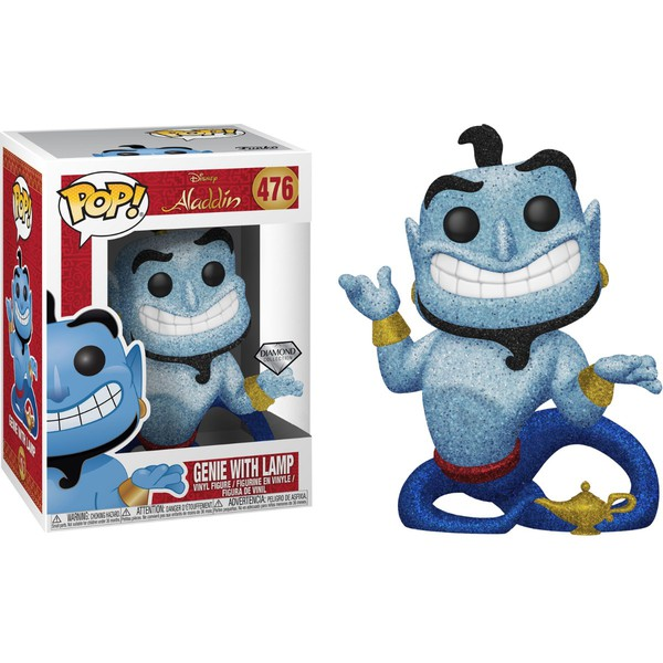 Genie with Lamp Pop! Vinyl -DIAMOND