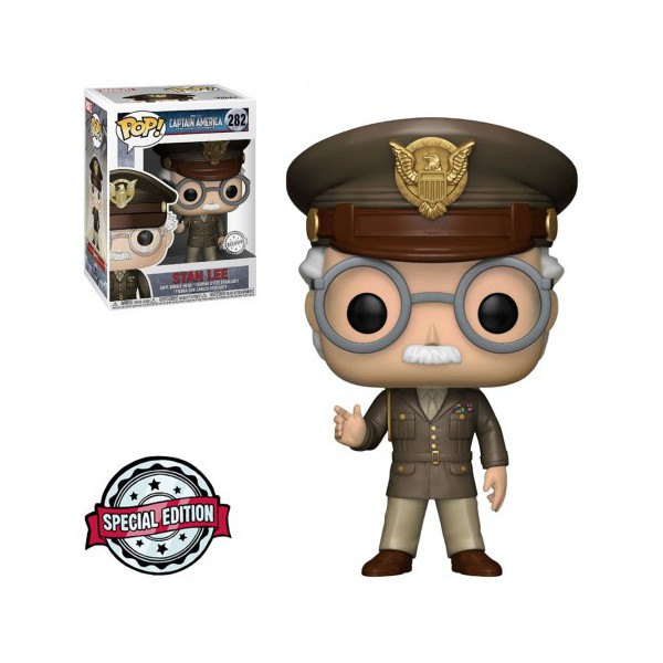 Marvel - Stan Lee General #282 Exclusive Funko Pop