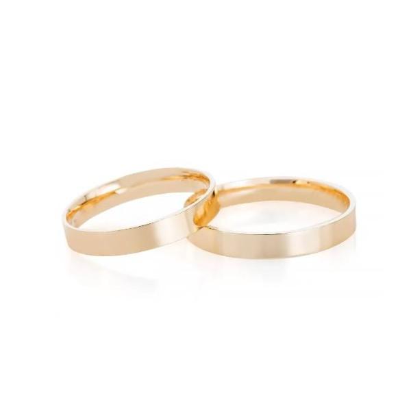 Alianças Pacaembu ♥ Casamento e Noivado em Ouro 18K