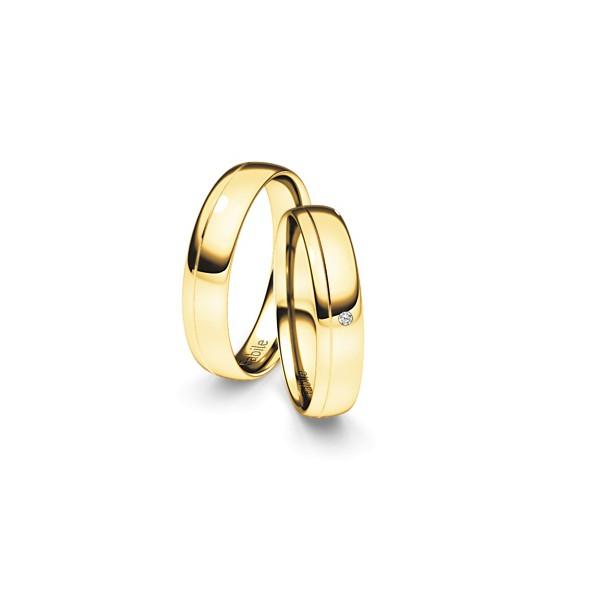 Alianças Itaipu ♥ Casamento e Noivado em Ouro 18K