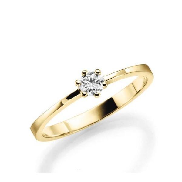 Anel Solitário Turim ♥ Noivado E Casamento
