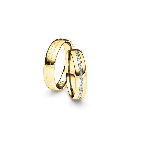 Alianças Holambra ♥ Casamento e Noivado em Ouro 18K Copia