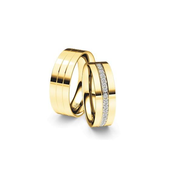 Alianças Nantu ♥ Casamento e Noivado em Ouro 18K