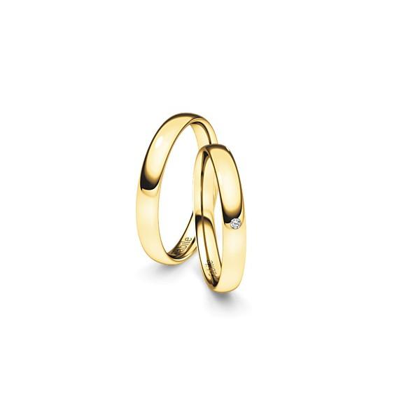 Alianças Vitoria ♥ Casamento e Noivado em Ouro 18K