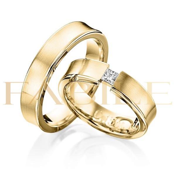 Alianças Acre ♥ Casamento e Noivado em Ouro 18K