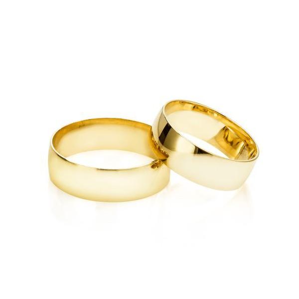 Alianças Aracaju ♥ Casamento e Noivado em Ouro 18K
