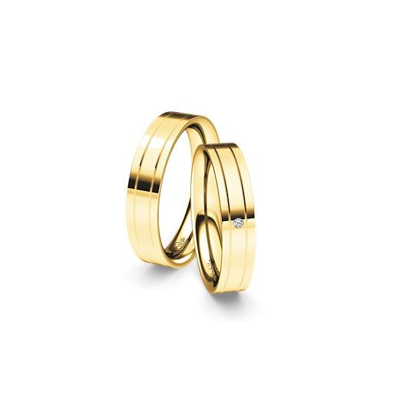 Alianças Irecê ♥ Casamento e Noivado em Ouro 18K