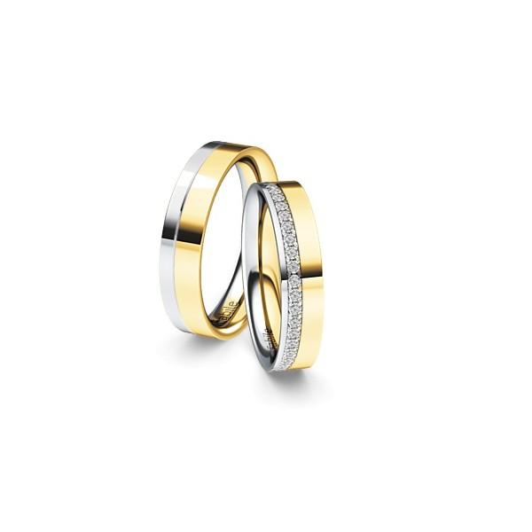 Alianças Florença Bodas ♥ Casamento e Noivado em Ouro 18K Copia