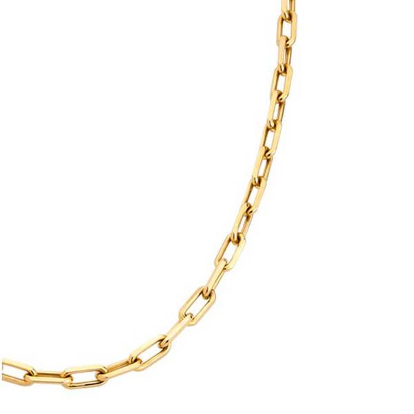 Corrente De Ouro 18k Cartie De 2,6mm Com 60cm