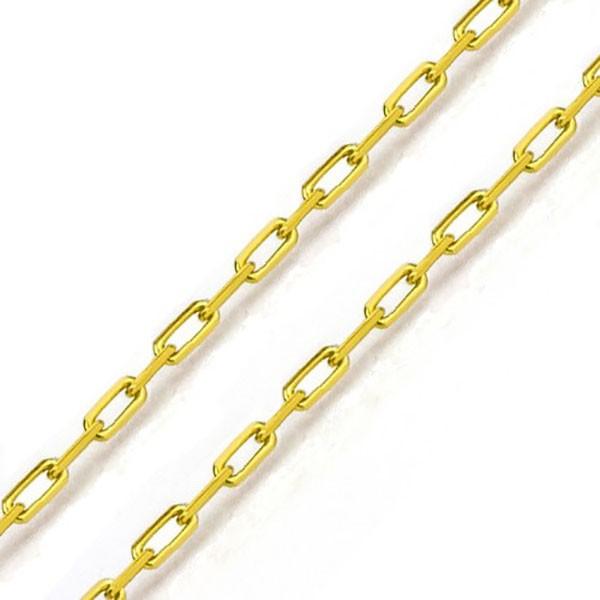 Corrente De Ouro 18k Cartie De 1,0mm Com 60cm