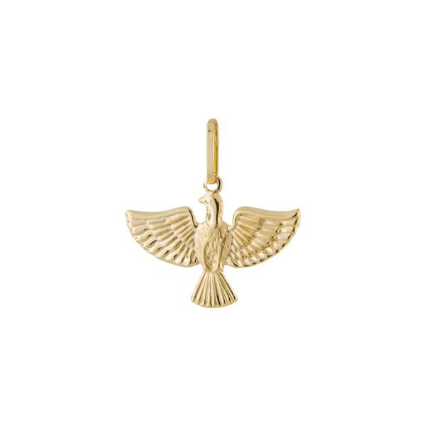 Pingente De Ouro 18k Espírito Santo De 11mm