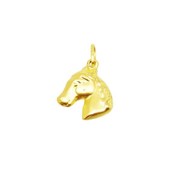 Pingente De Ouro 18k Cavalo