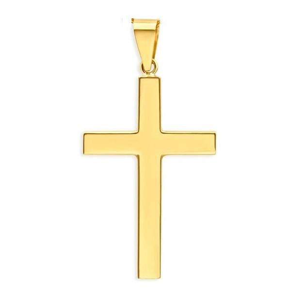 Pingente De Ouro 18k Cruz