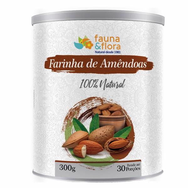 Farinha de Amêndoas 300gr