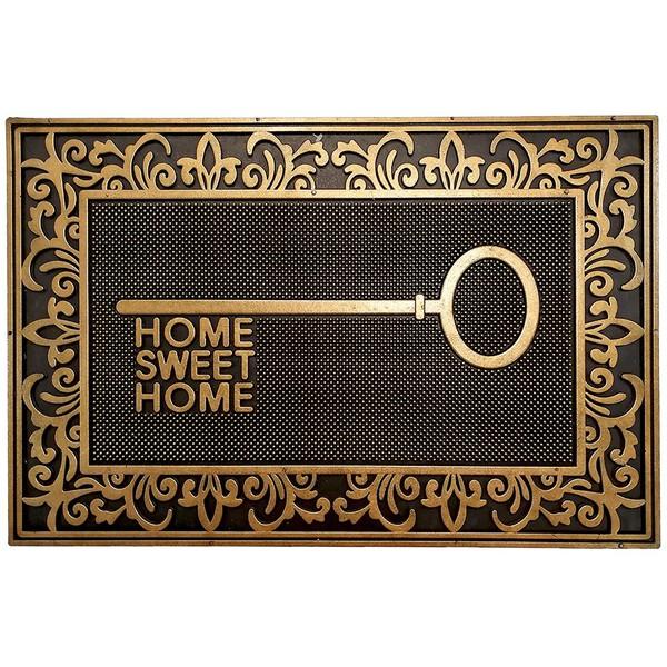 TAPETE CAPACHO 40X60CM IRON HOME SWEET HOME