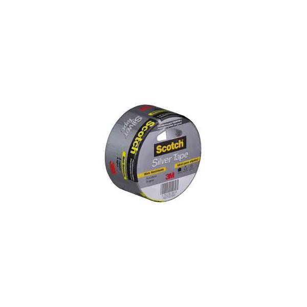 Fita Silver Tape Cinza 45x25m 3M