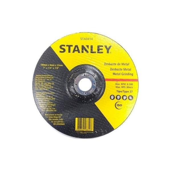 "Disco de Desbaste Metal 7"" Stanley STA0414"