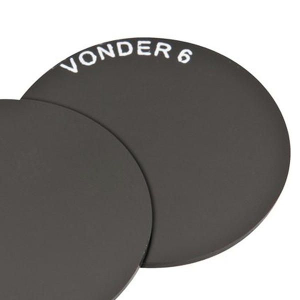 Lente Redonda para Óculos de Solda 50mm Tonalidade 6 Carbografite