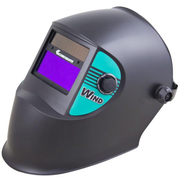 Máscara de Solda Auto escurecimento Wind Carbografite