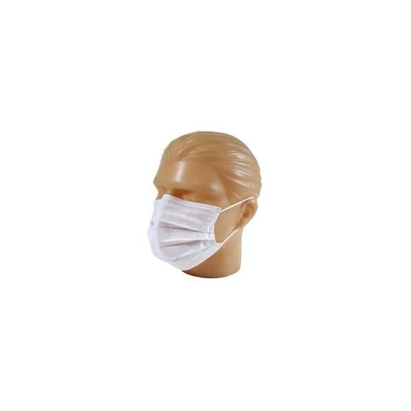 Máscara FA TNT DUPLA Tipo Cirúrgica com Elástico PCT 50 Unidades