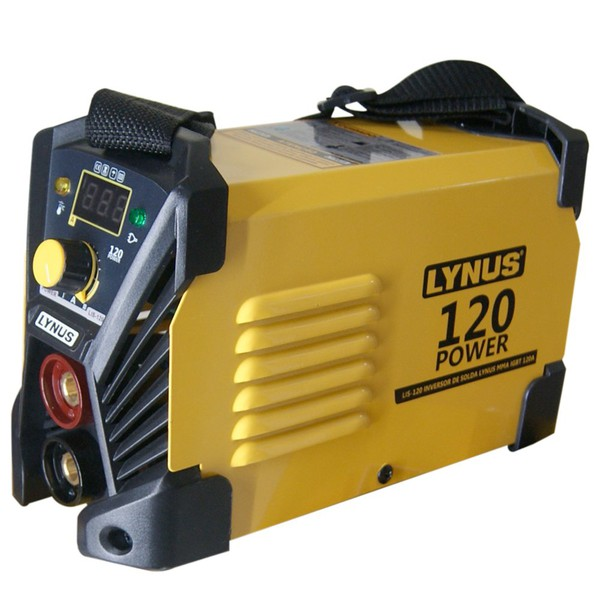 Power Inversor de Solda Lynus MMA 120A 220V LIS-120 Lynus 000108218