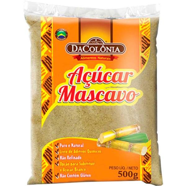 Açúcar Mascavo DaColonia 500g