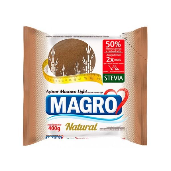 Açúcar Mascavo Light Natural com Stévia 400g