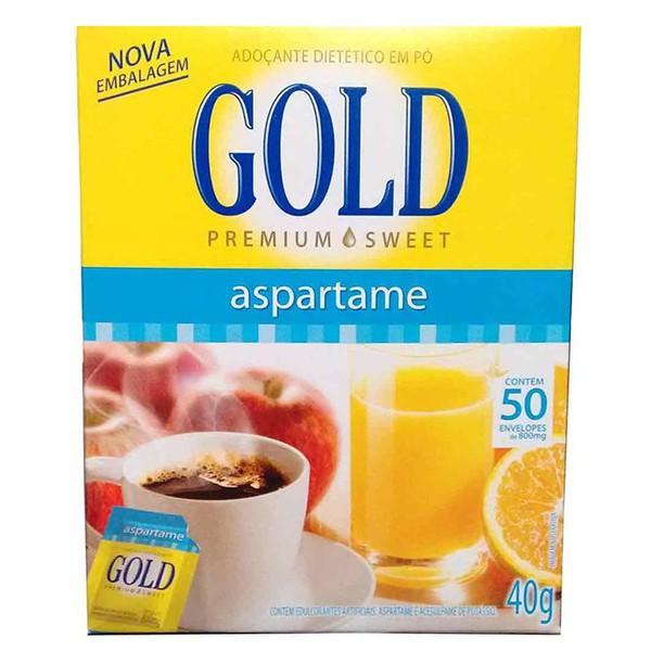 Adoçante Gold Aspartame 50un x 0,8g