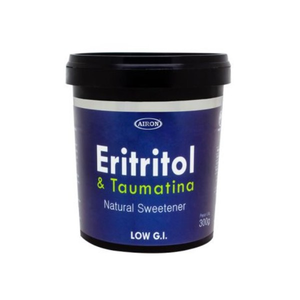 Adoçante Natural Eritritol Taumatina 300g