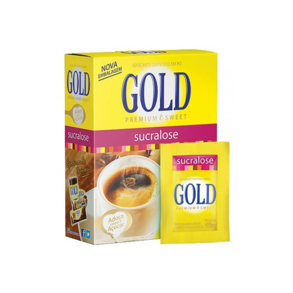 Adoçante Gold Sucralose 50un x 0,6g