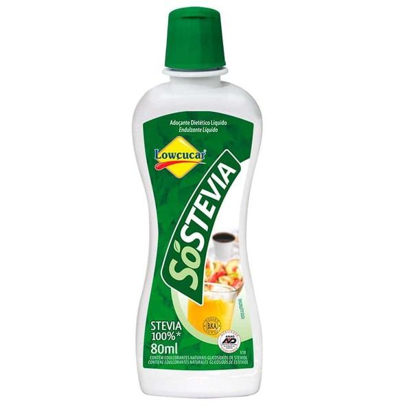 Adoçante Só Stevia 80ml
