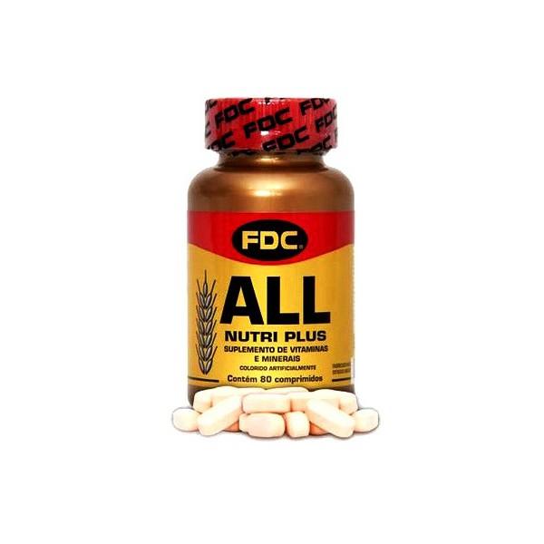 All Nutri Plus 80 compromidos