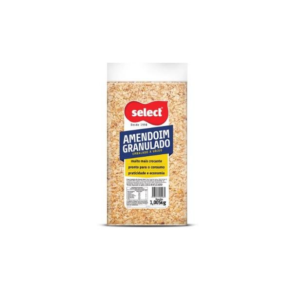 Amendoim Granulado À Vácuo 1,005kg