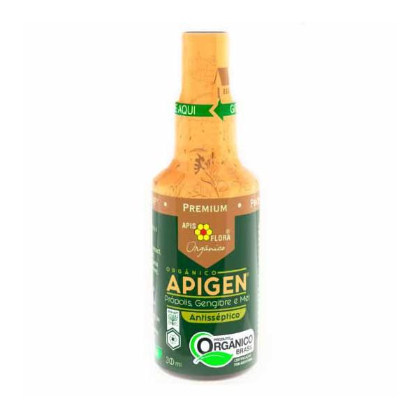 Apigen Própolis, Gengibre, Mel Spray Orgânico 30ml