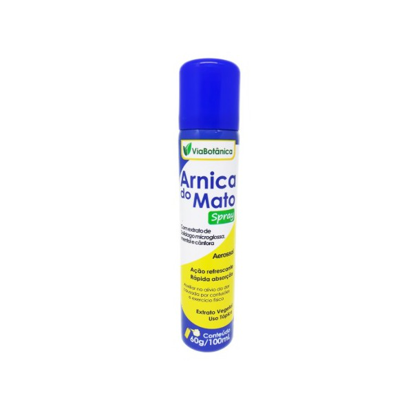 Arnica do Mato Spray Via Botânica 100ml