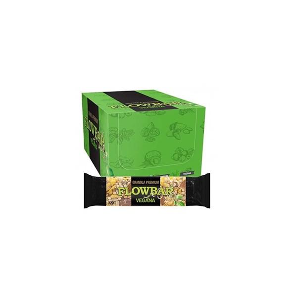Barra Granola Flowbar vegana Premium Display 20x30g