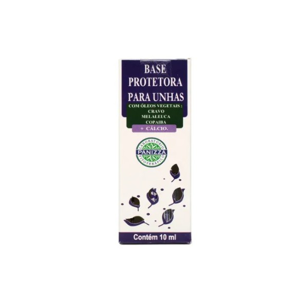 Base Protetora Para Unhas Cravo, Melaleuca, Copaíba + Cálcio 10ml
