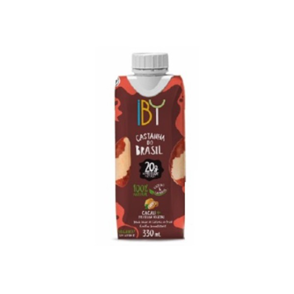 Bebida de Castanha com Cacau e Proteína Vegetal 330ml