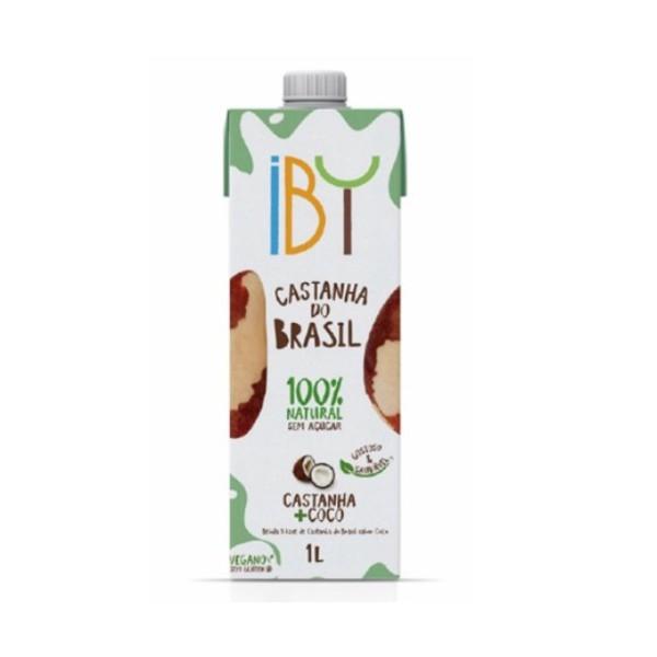 Bebida de Castanha com Coco Vegana 1 litro