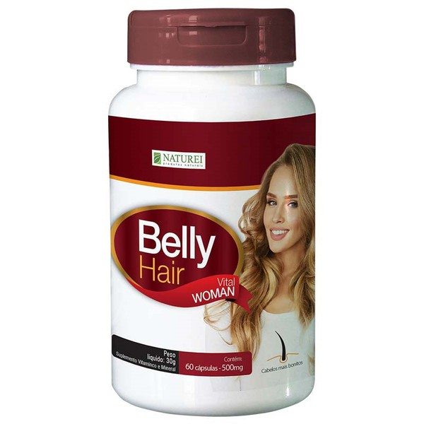Belly Hair Woman 60 Cápsulas x 500mg