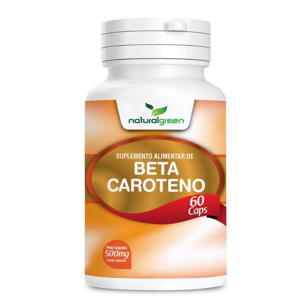 Beta Caroteno 60 cápsulas x 600mg