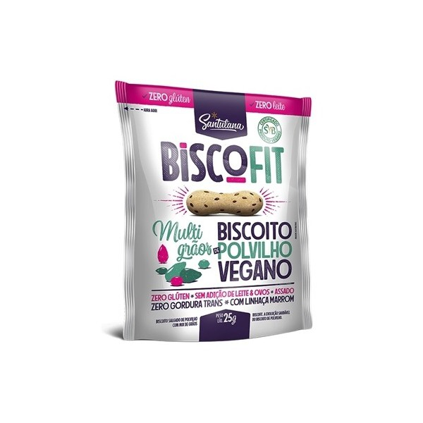 Biscoito Biscofit Snack Vegano Multigrãos 25g