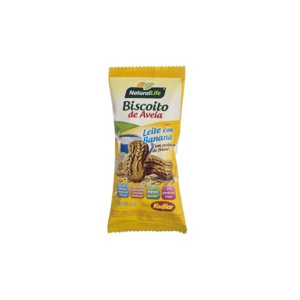 Biscoito de Aveia Leite com Banana 23g