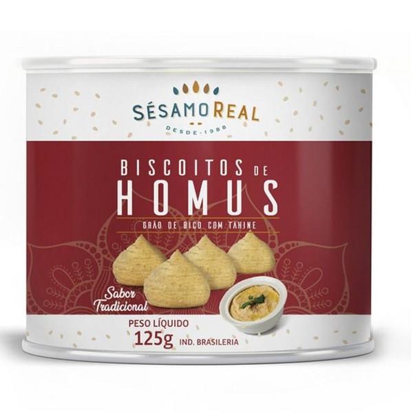 Biscoito de Homus Tradicional Vegano 125g
