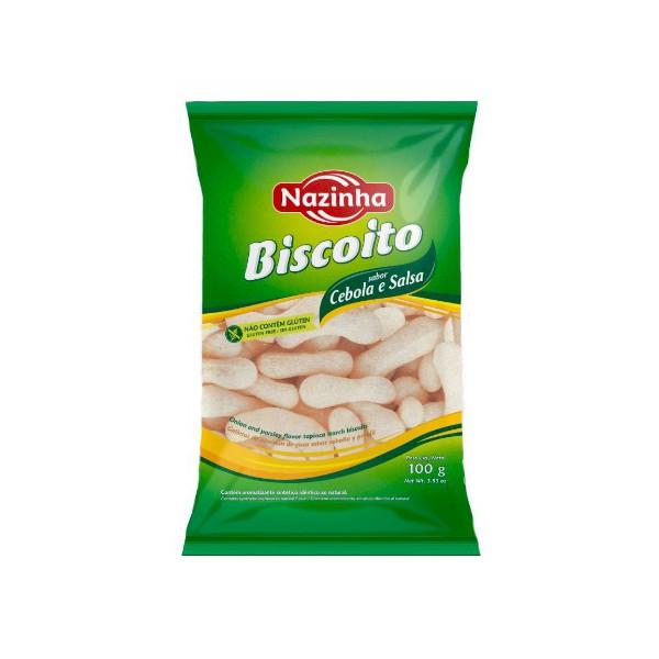 Biscoito Polvilho Sabor Cebola e Salsa 100g