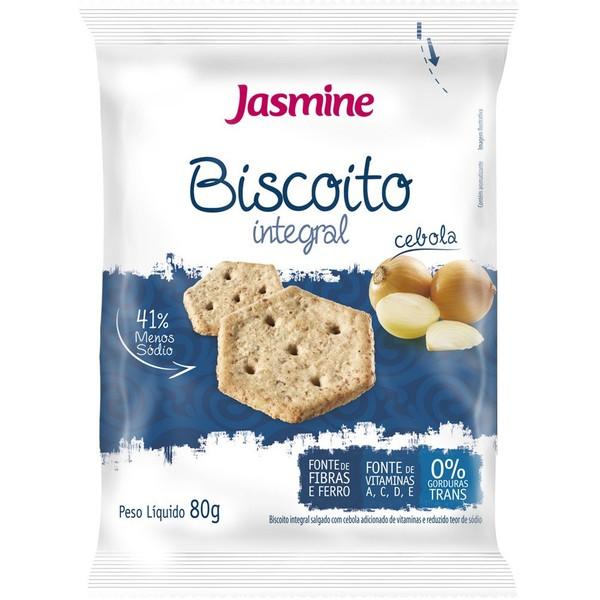 Biscoito Salgado Integral Cebola 80g