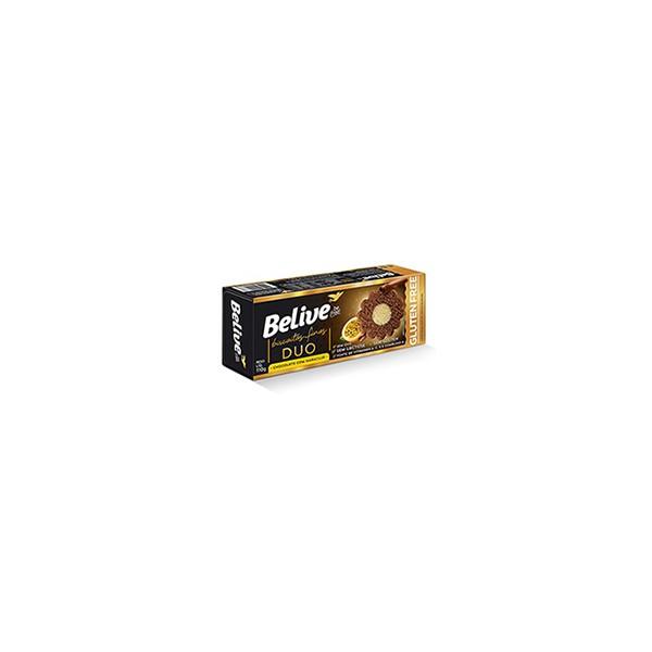 Biscoitos Finos Chocolate com Maracujá Belive 110g