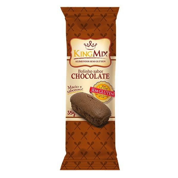 Bolinho de Chocolate Sem Glúten Display 12 x 35g