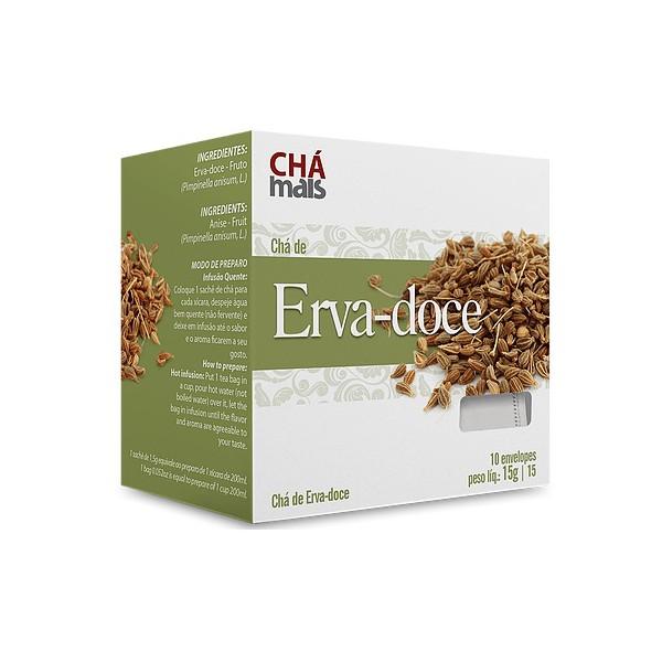 Chá de Erva Doce Sachê 10 x 1,5g