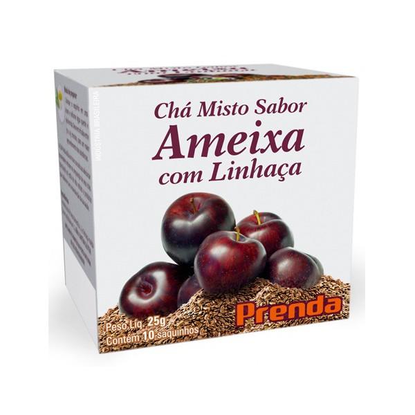 Chá Misto Ameixa com Linhaça 10x25g
